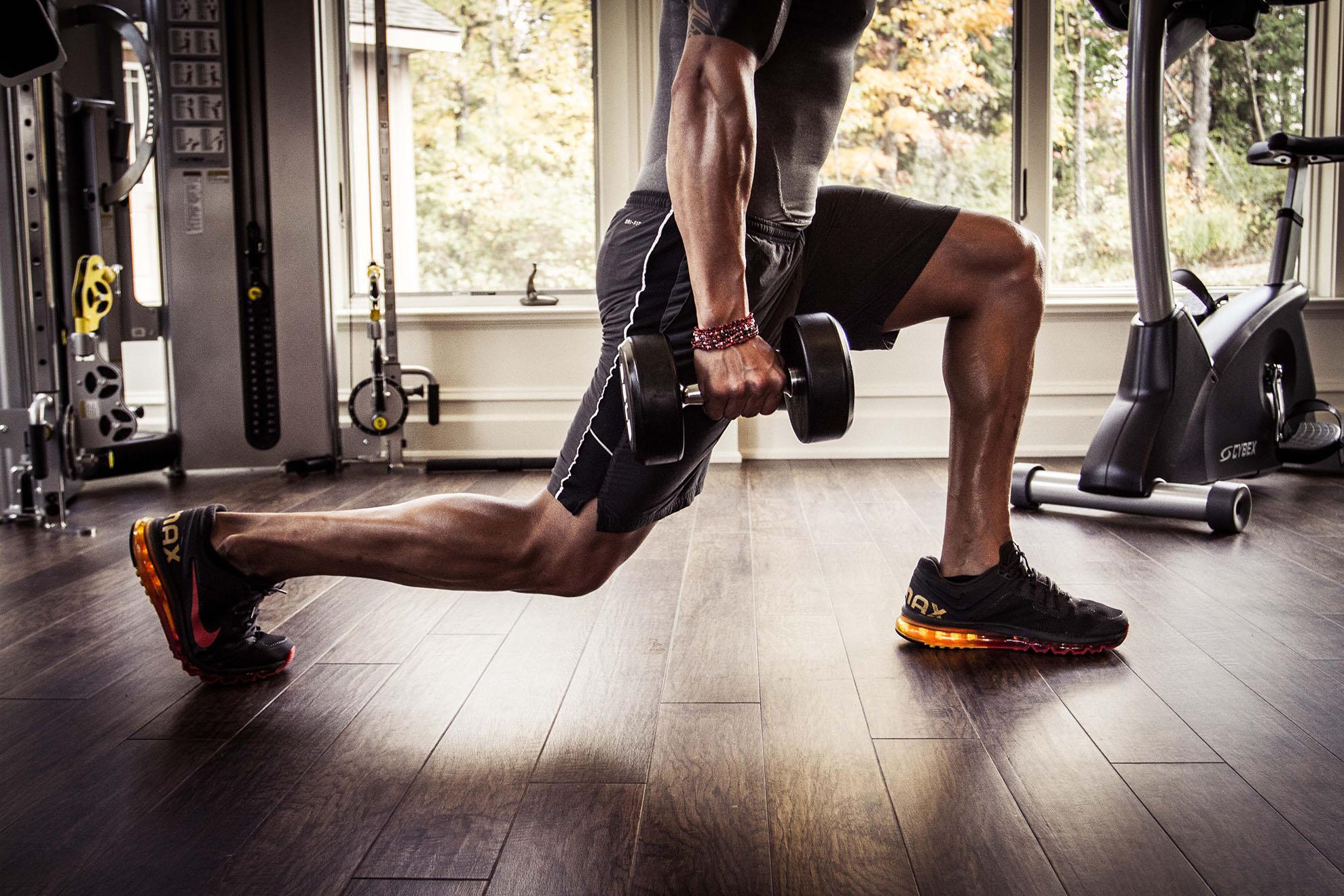 Entrenamiento - Subir Masa Muscular